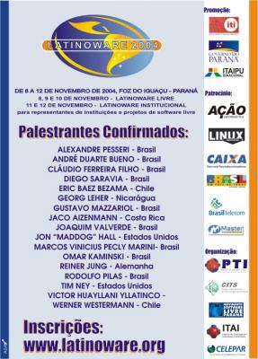 Convite do evento